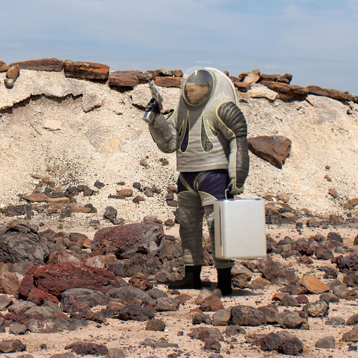 NASA's 'Trends in Society' Z-2 Spacesuit Design