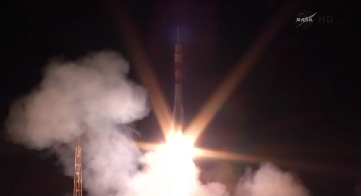 Expedition 39 Soyuz Launch