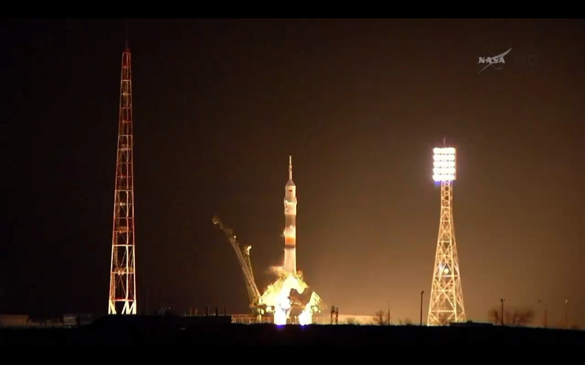 Expedition 39 Just Prior to Launch