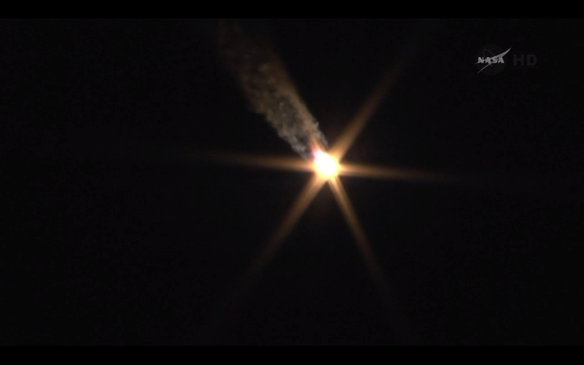 Expedition 39 Soyuz TMA-12M Ascending