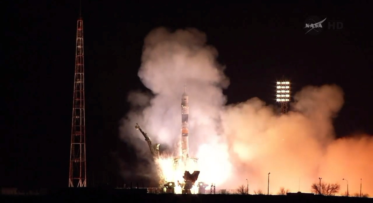 Expedition 39 Soyuz Launch Begins