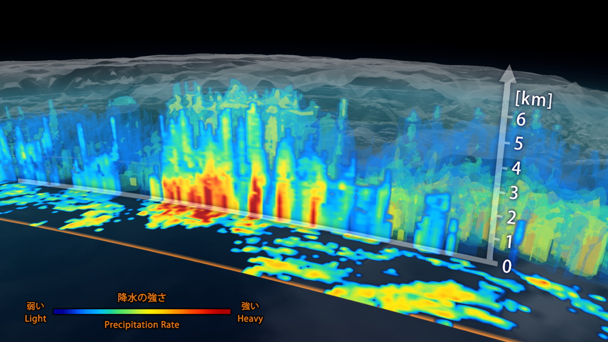 New Satellite Offers 3-D View of Rain and Snow