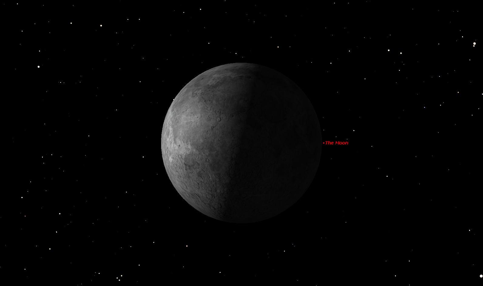 Last Quarter Moon, April 2014
