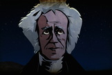 "Actor Sir Patrick Stewart is the voice of astronomer William Herschel appears in the all-new ""A Sky Full of Ghosts"" episode of COSMOS: A SPACETIME ODYSSEY airing Sunday, March 30 (9:00-10:00 PM ET/PT) on FOX and Monday, March 31 (9:00-10:00 PM ET/PT) on Nat Geo."