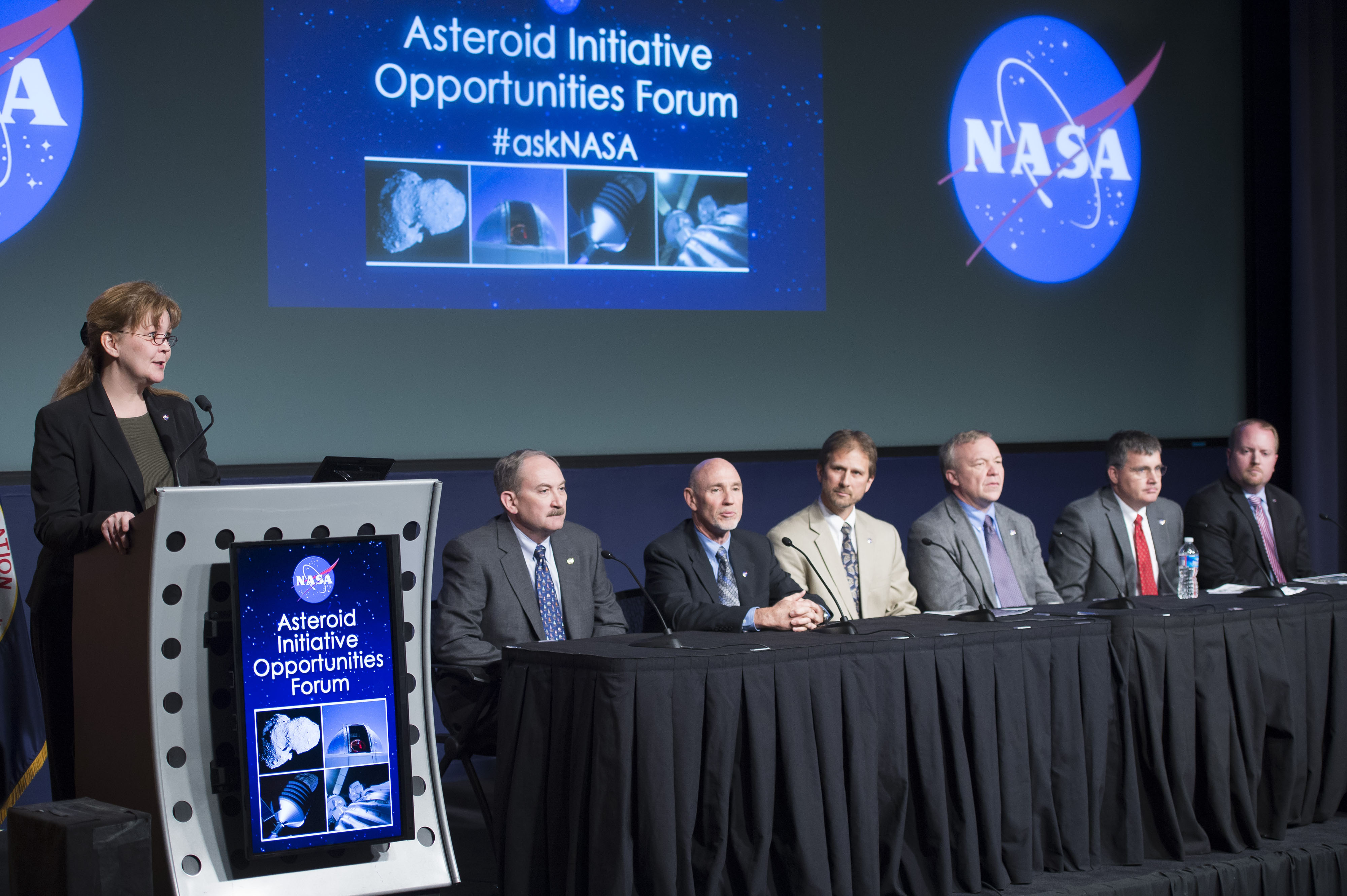 Michele Gates Leads Asteroid Redirect Mission Panel
