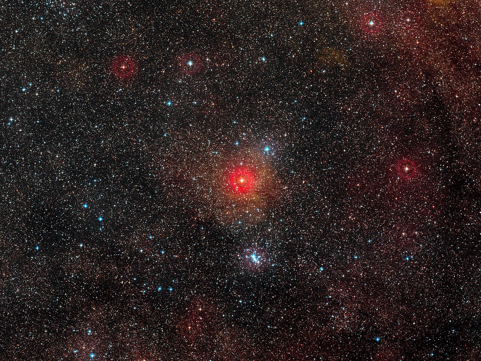 Rare Double Star | Space Wallpaper