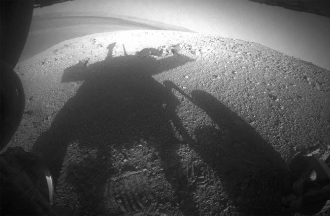 Rover Opportunity Celebrates Mars Spring Power Boost