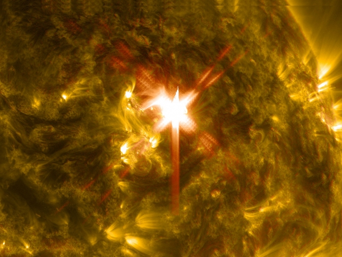 X1 Solar Flare of March 29, 2014