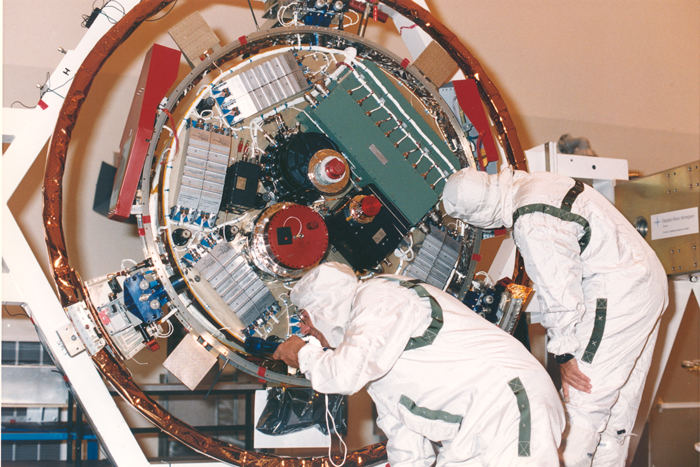 Space History Photo: Repair to the Huygens Probe