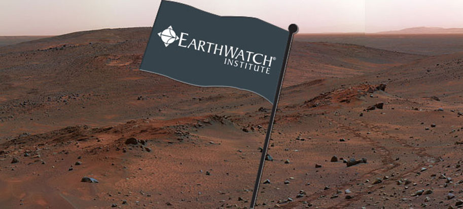 Search for Life on Mars with Earthwatch This April Fools' Day