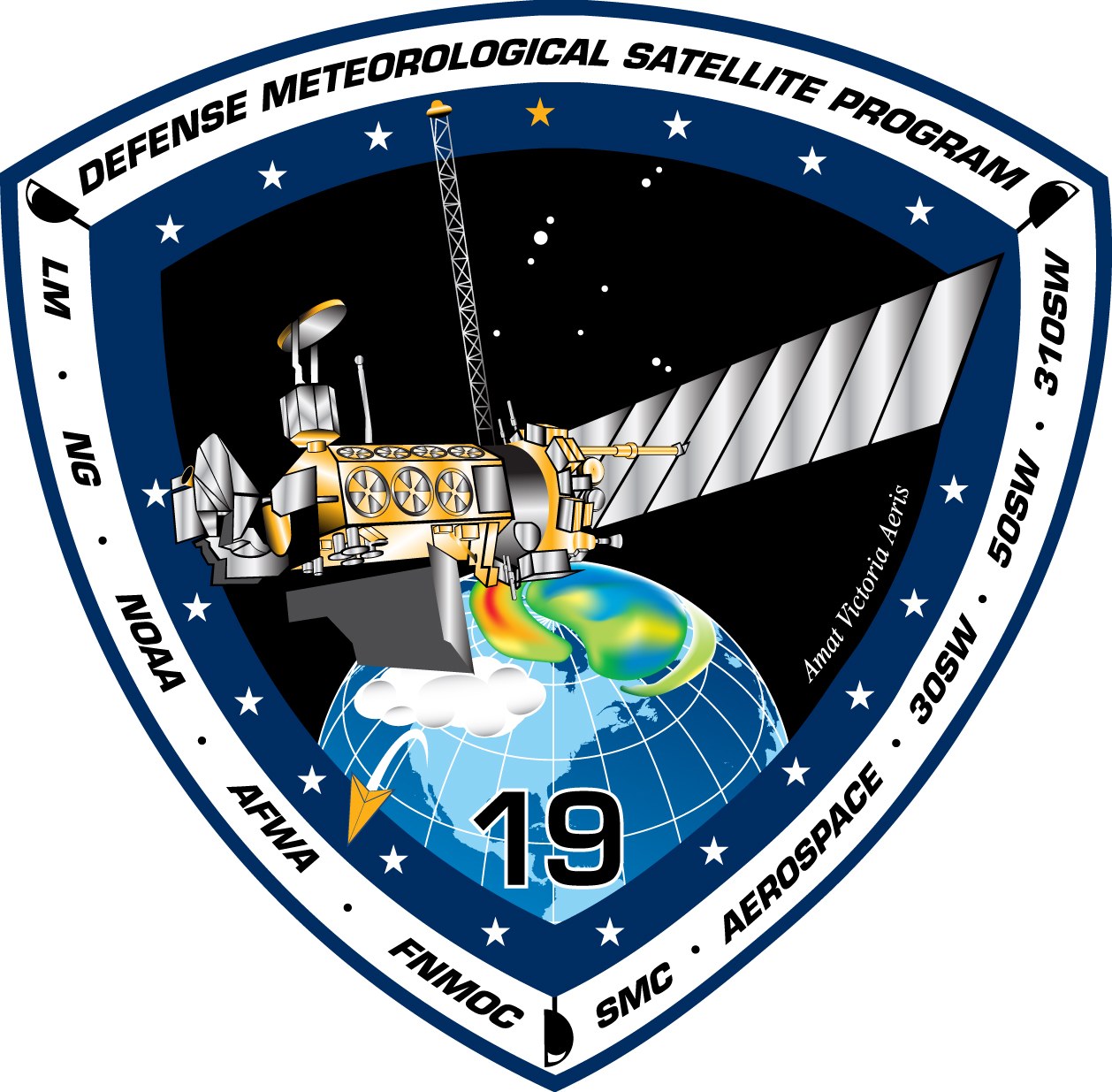 Defense Meteorological Satellite Program Flight 19 Satellite