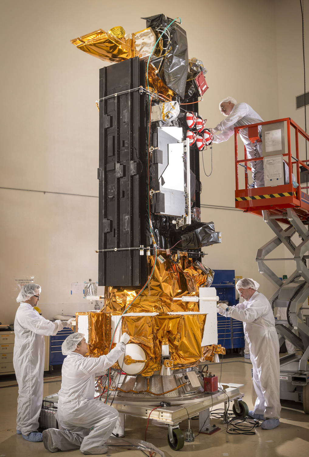US Military's DMSP-19 Weather Satellite