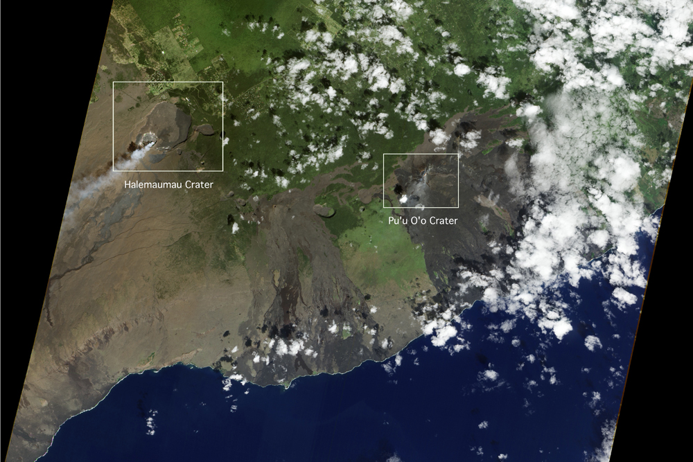 Satellite Images May Predict Volcanic Eruptions