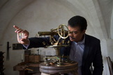"Host Neil deGrasse Tyson travels to Benediktbeuern Abbey in Bavaria to visit Joseph Fraunhofer's top-secret laboratory in the all-new ""Hiding In The Light"" episode of COSMOS: A SPACETIME ODYSSEY airing Sunday, April 6 (9:00-10:00 PM ET/PT) on FOX and Monday, April 7 (9:00-10:00 PM ET/PT) on Nat Geo."