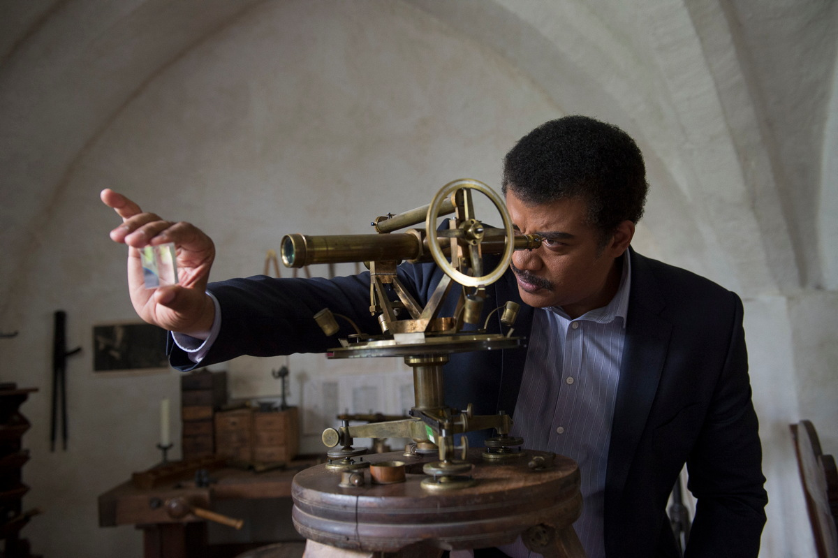 Tyson Travels to Benediktbeuern Abbey in 'Cosmos'