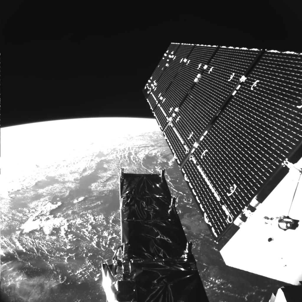 Sentinel-1A Sends Back Selfie from Space