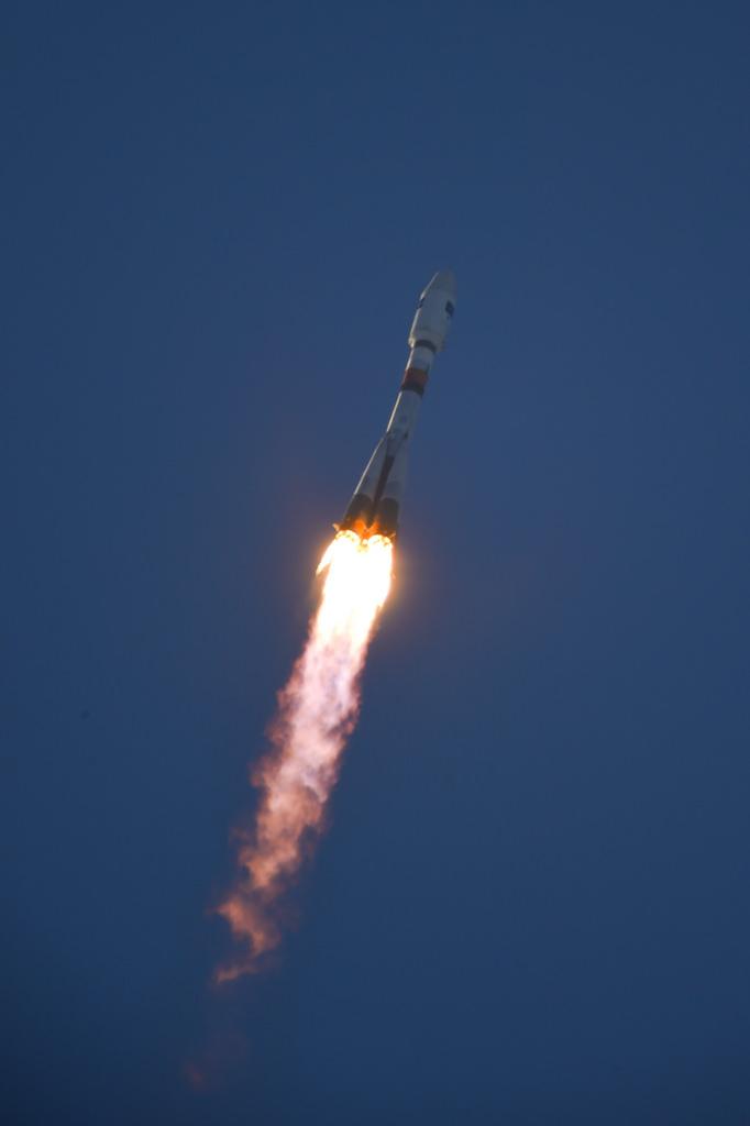 Sentinel-1A Aloft