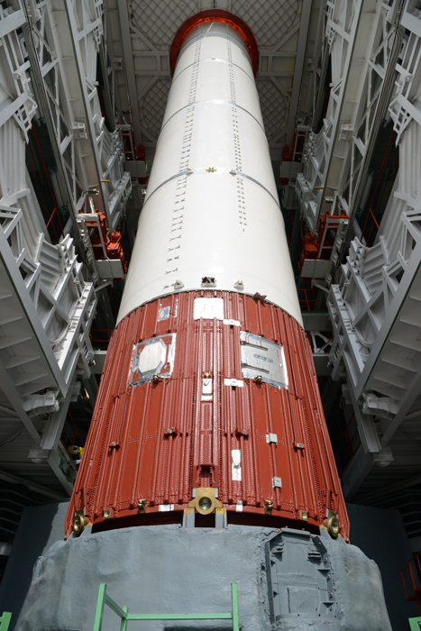Polar Satellite Launch Vehicle Fully integrated