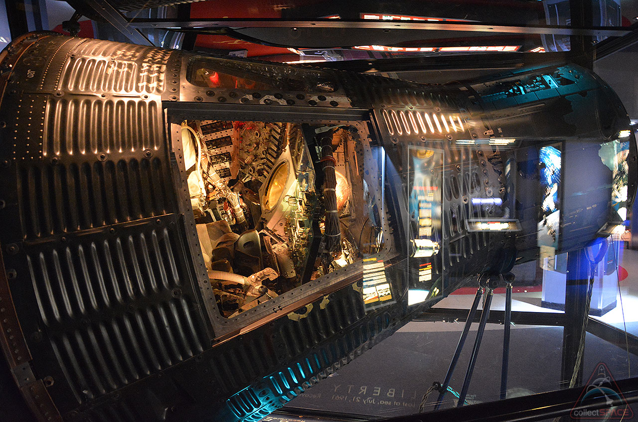 Mercury Space Capsule Shipping Overseas for German Art Exhibition