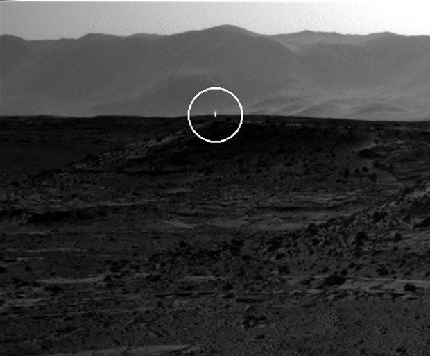 Weird 'UFO' Light on Mars May Just Be a Shiny Rock, NASA Says