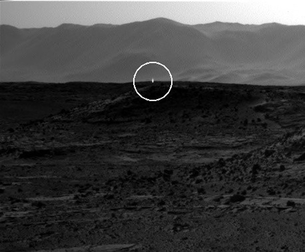 Weird 'UFO' Light on Mars May Just Be a Shiny Rock, NASA Says