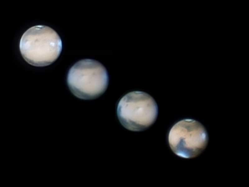 Mars Puts on Dazzling Show for Amateur Astronomers (Photos)