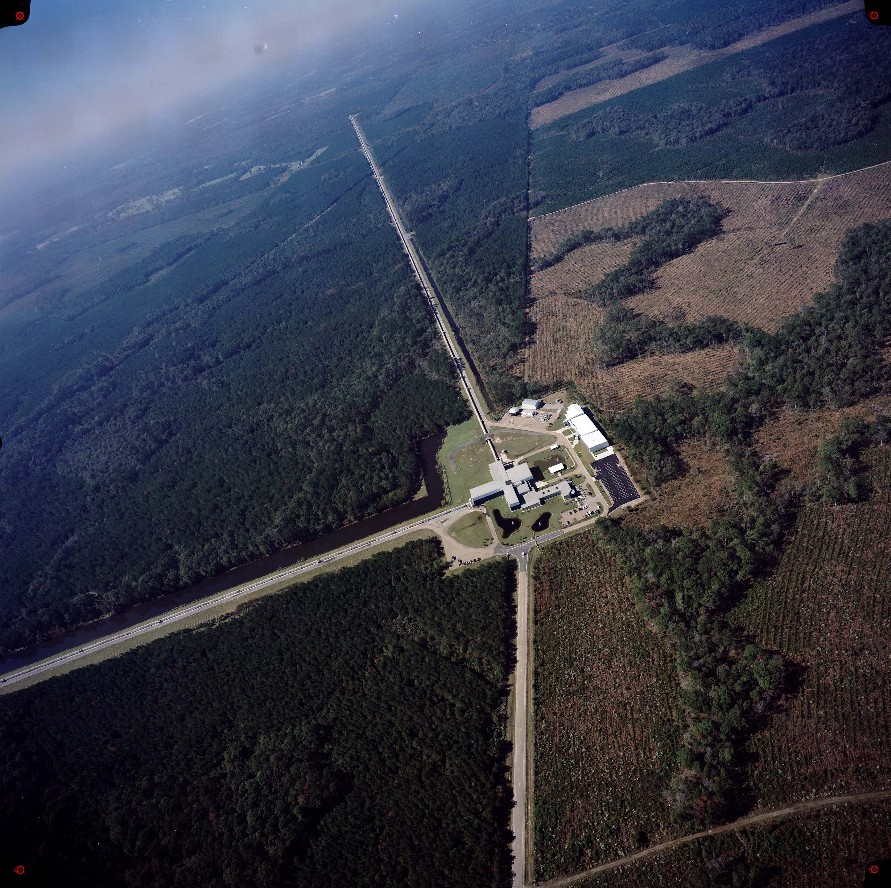 Aerial View of LIGO Livingston Laboratory