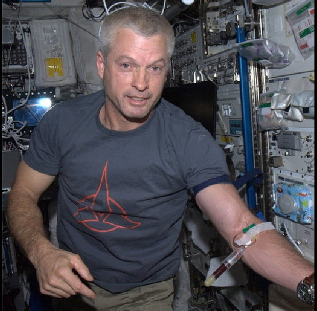 Steve Swanson on ISS Instagram Photo