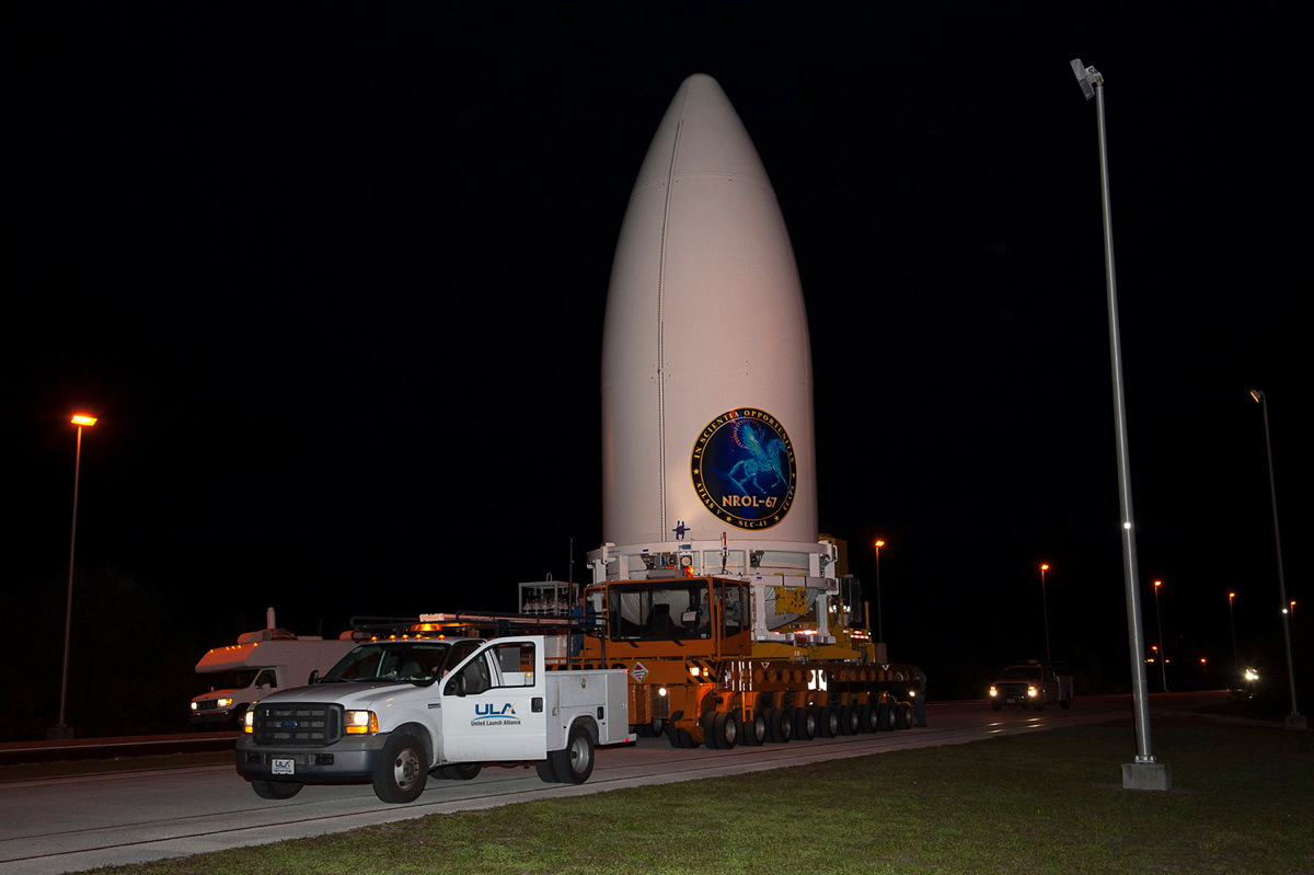 NROL-67 Payload Transported