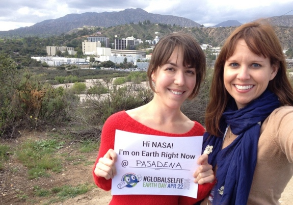 "On Earth Day, April 22, 2014, NASA invites you to celebrate by stepping outside, taking a ""selfie"" and sharing it with the world on social media. The event is designed to encourage environmental awareness and recognize NASA's ongoing work to protect Earth."