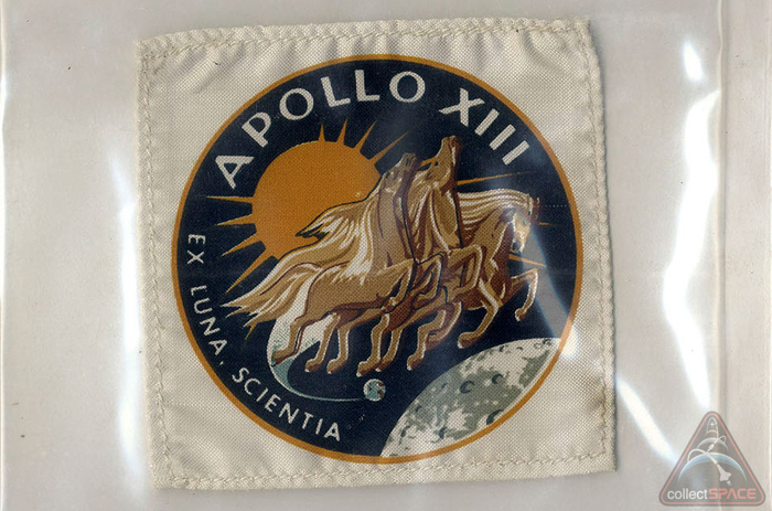 apollo 13, auction, jack swigert, patch