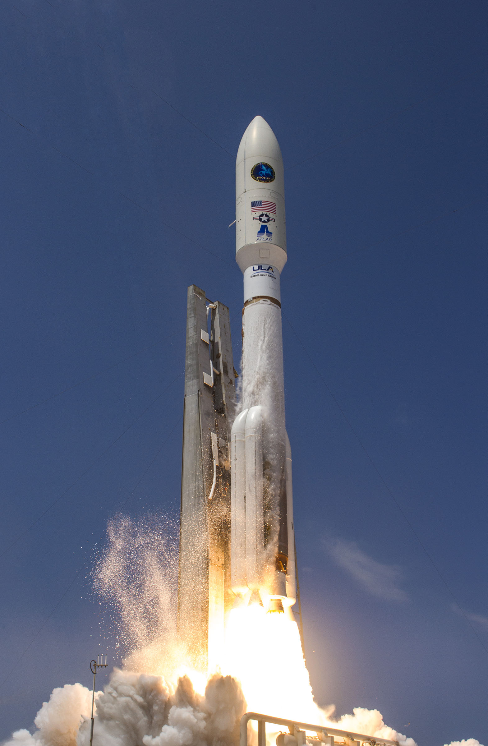 Atlas 5 Rocket Launches NROL-67 Spy Satellite