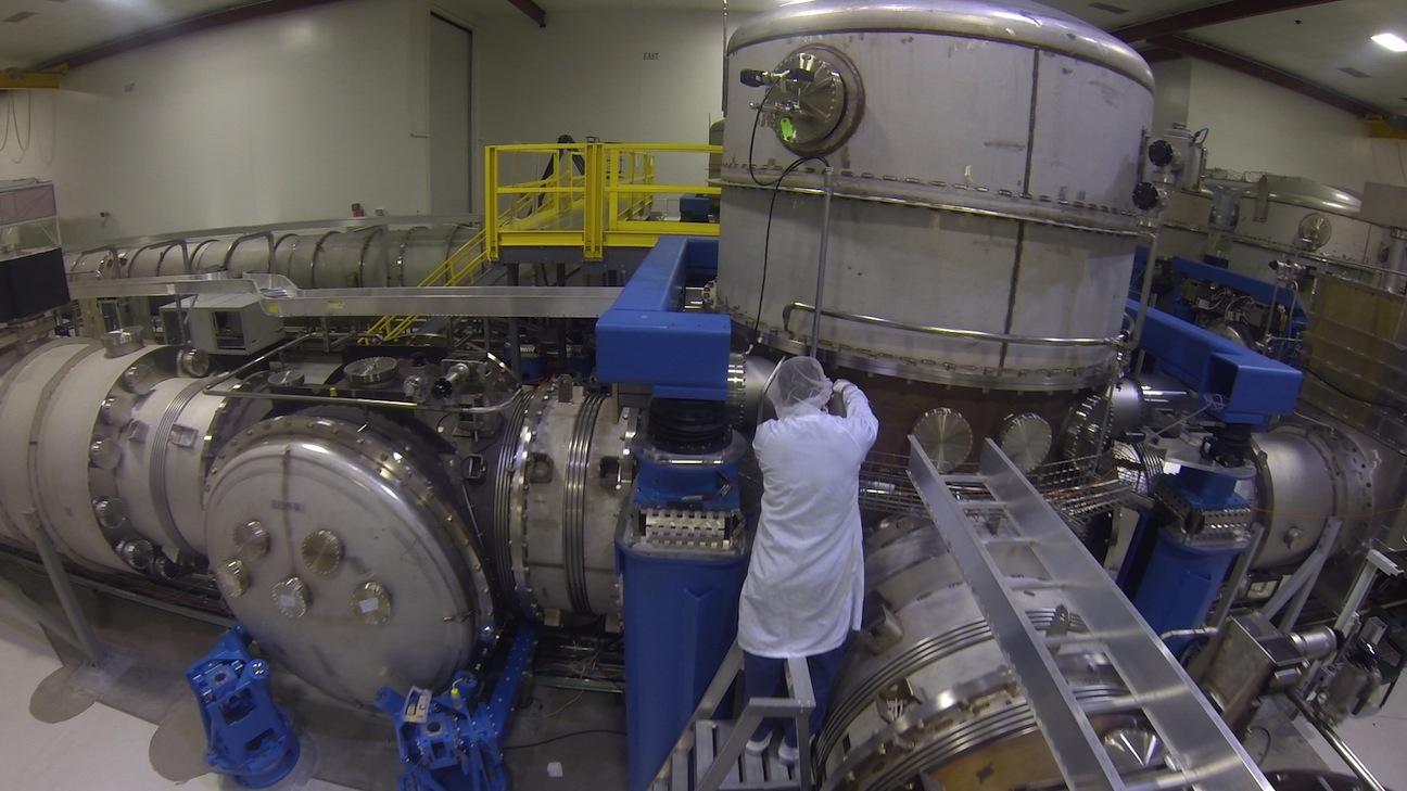 LIGO Observatory Vertex Area