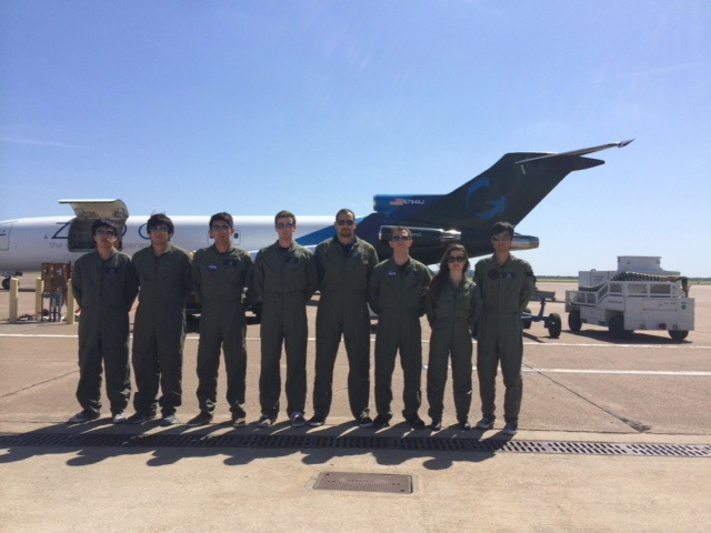 UCSD Team Suits Up for Flight Week