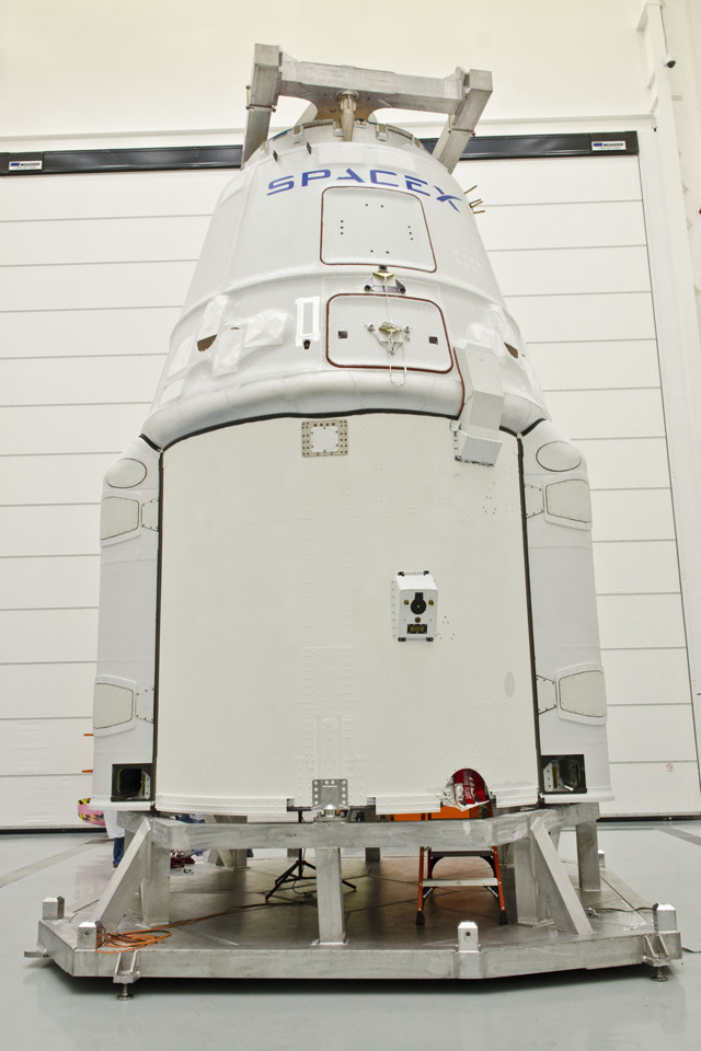 SpaceX Dragon Spacecraft: CRS-3
