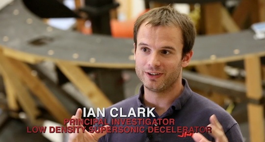 Low-Density Supersonic Decelerator Principal Investigator Ian Clark