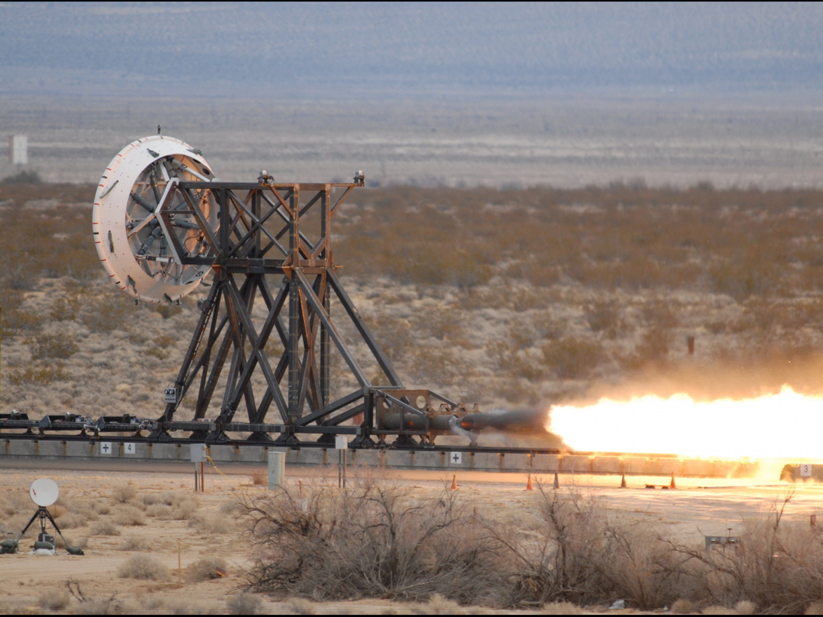 NASA Fires Up Rocket Sled Hardware at China Lake