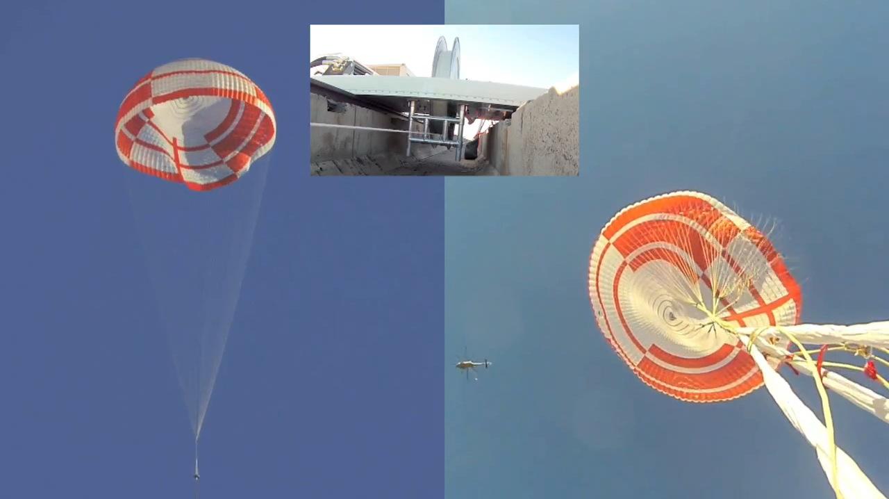 Parachute Test Images