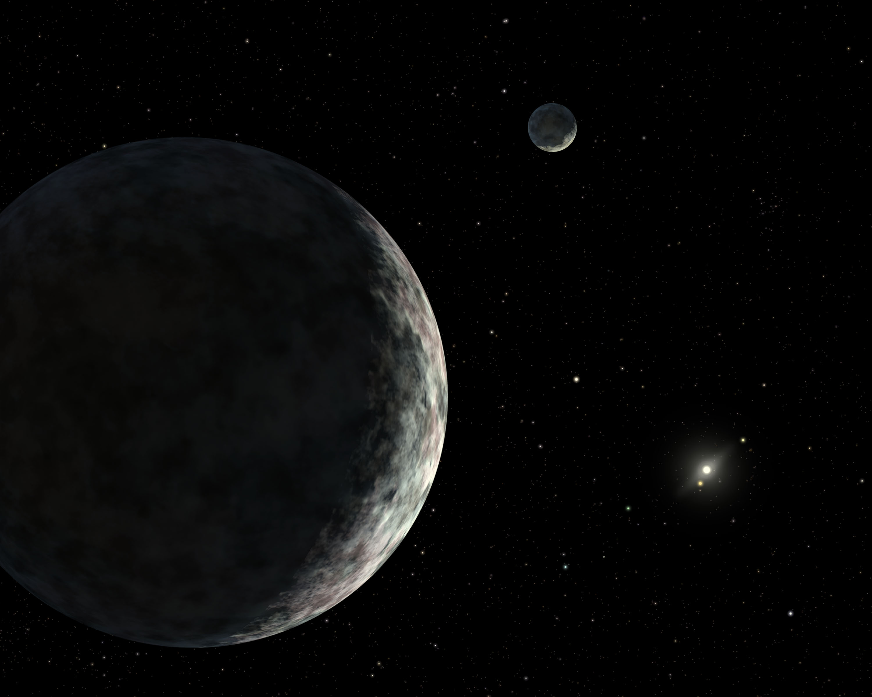 Dwarf Planet Discovery Could Help Show Life's Spread Through Solar System