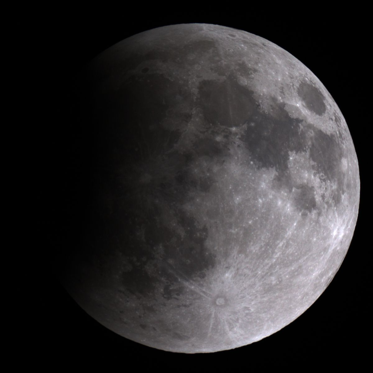 April 15, 2014 Total Lunar Eclipse Begins: Mt. Lemmon SkyCenter