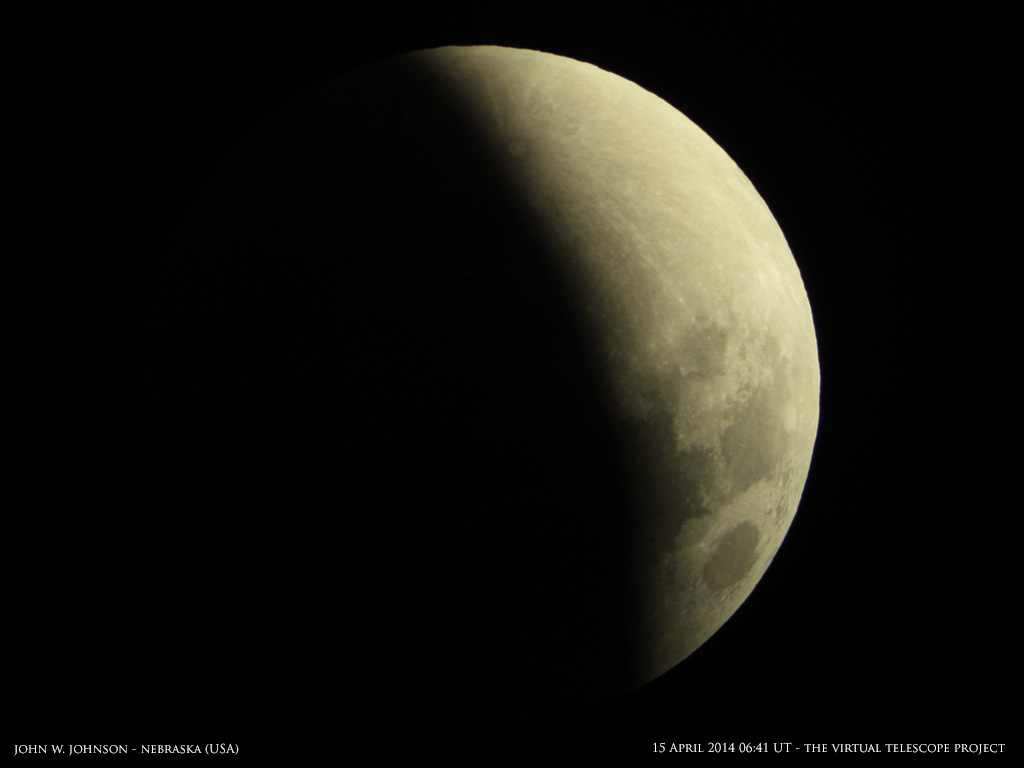 Total Lunar Eclipse of April 15, 2014: John Johnson