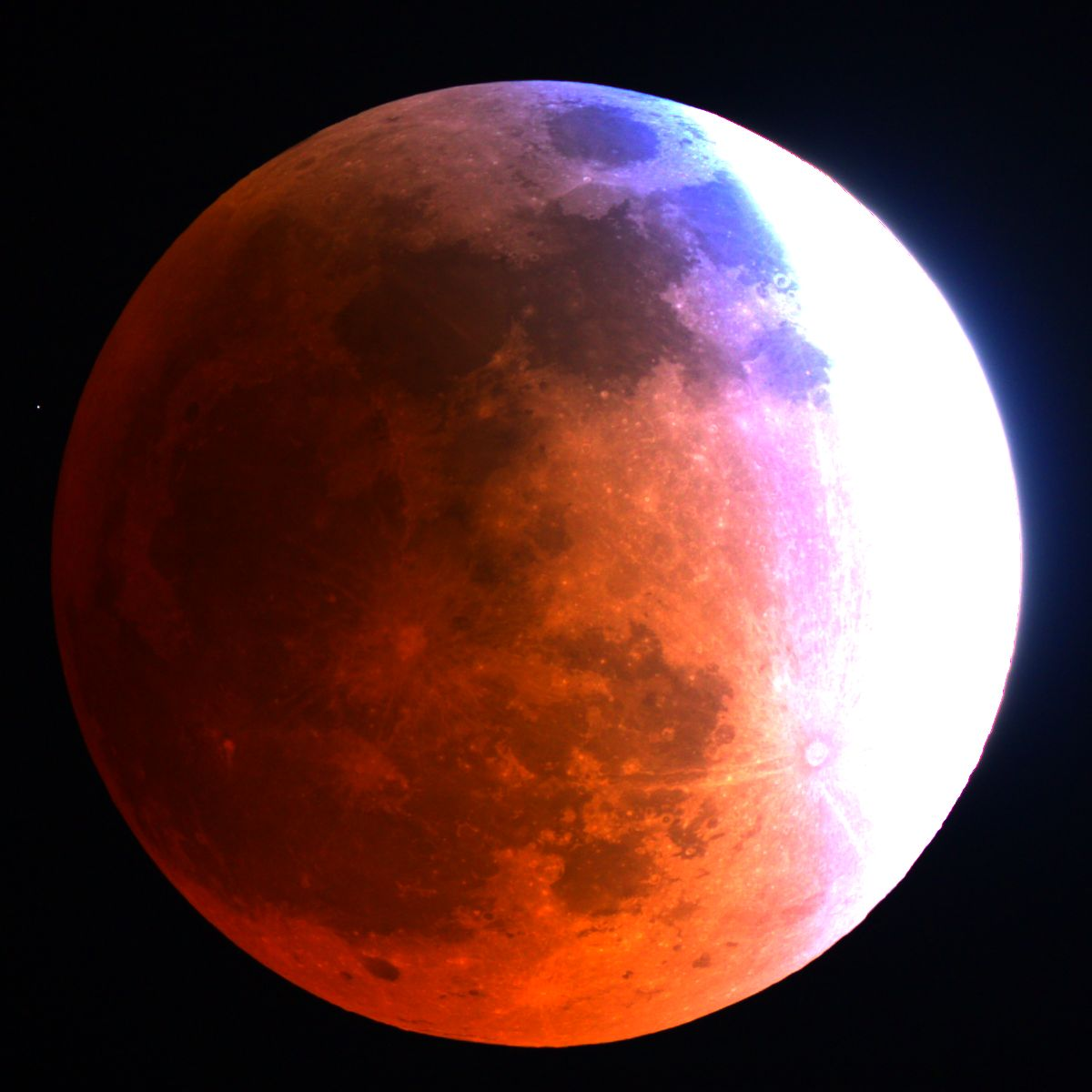 Blood Moon: Total Lunar Eclipse of 2014, Mt. Lemmon