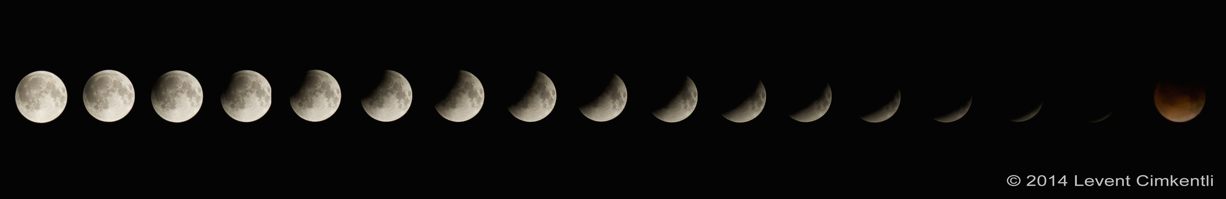 Total Lunar Eclipse of April 15, 2014 Series: Levent Cimkentli