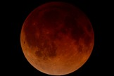 Skywatcher Brett Bonine of Arkansas captured this view of the first total lunar eclipse of 2014 in the early morning hours of April 15, 2014.