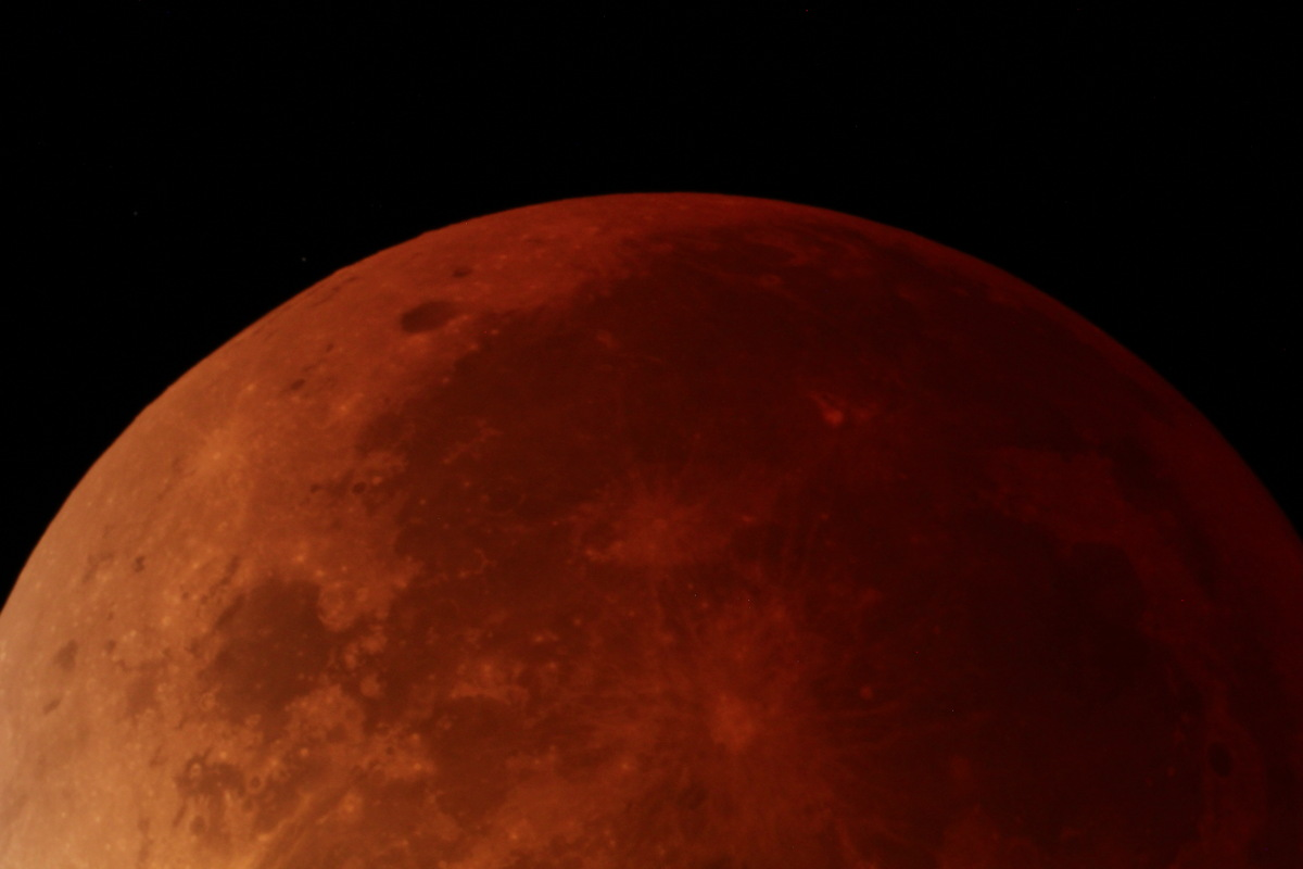 Lunar Eclipse Seen in Colorado at Thalimer Observatory
