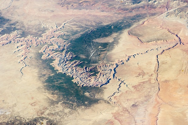 Geologic Wonder: See the Grand Canyon from Space