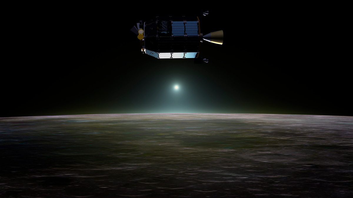 A Probe Bites the Lunar Dust