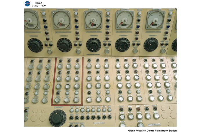 Space History Photo: Right Side of Control Panel