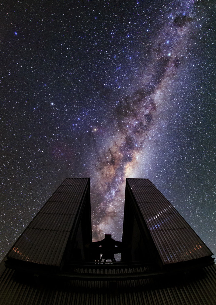 Milky Way Above the New Technology Telescope