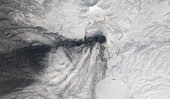 5 Erupting Volcanoes Seen from Space